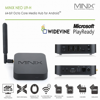 Android tv box MINIX Neo U9-H купить