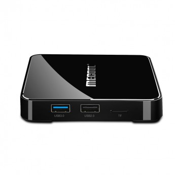 Android tv box Mecool KM3 4/64 Гб Voice Control TV купити