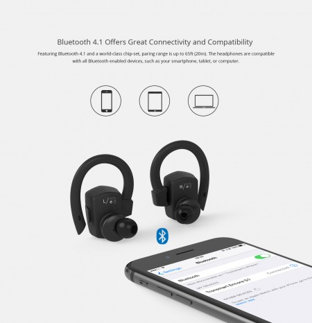 Tronsmart Encore S5 - Купити бездротові блютуз навушники. Найкраща ціна f1b9e2ca3d067
