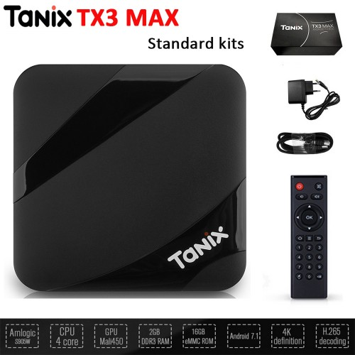 Вiдгуки smart tv box Tanix TX3 Max